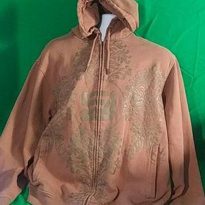 Sean John Brown hoodie xl